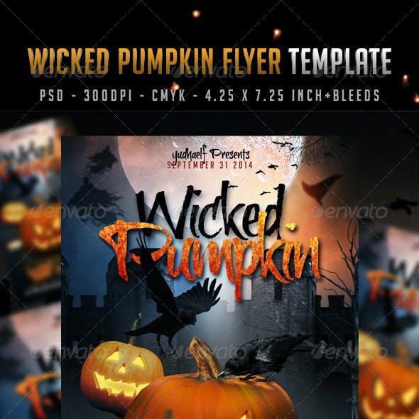 Wicked Pumpkin Flyer