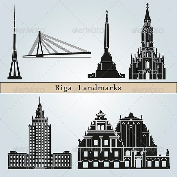 Riga Landmarks and Monuments
