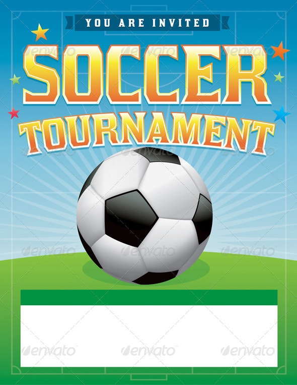 Soccer Football Tournament Illustration - Sports/Activity Conceptual