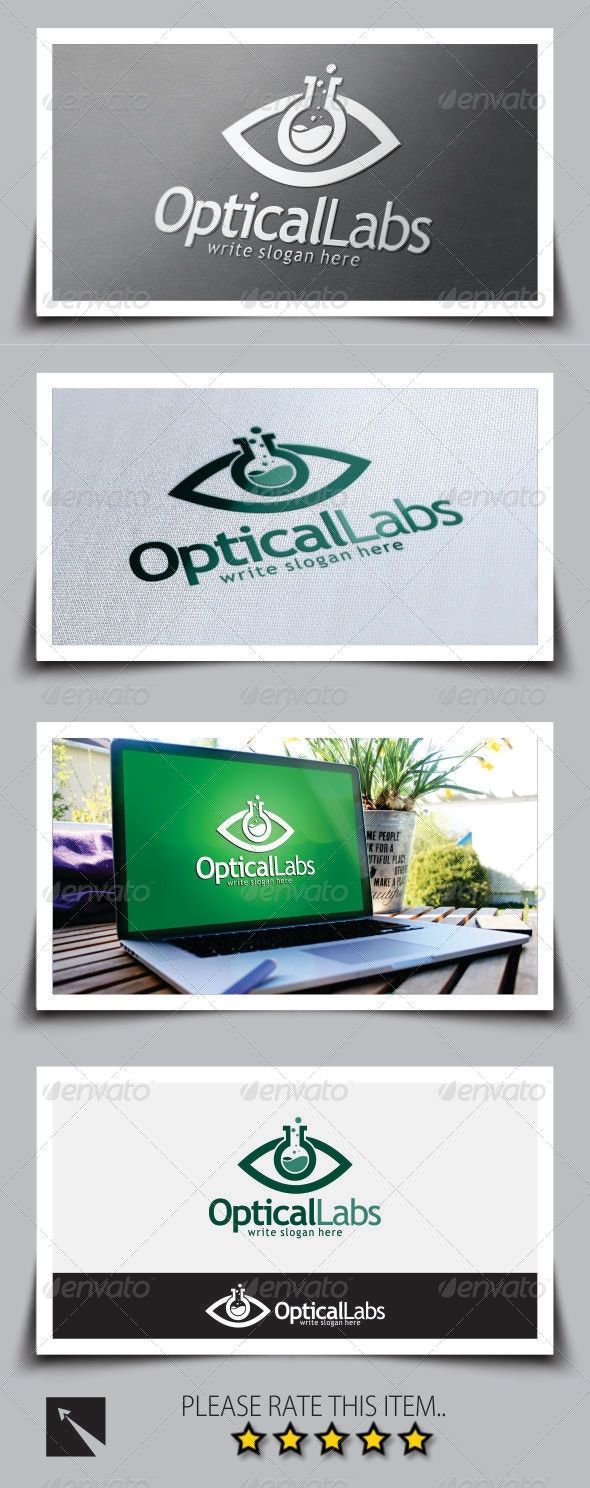 Optical Labs Logo Template - Symbols Logo Templates
