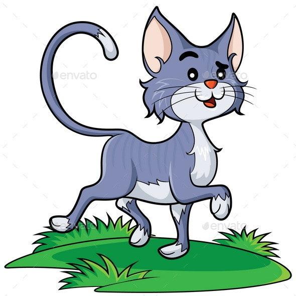 Cat Cartoon - Animals Characters