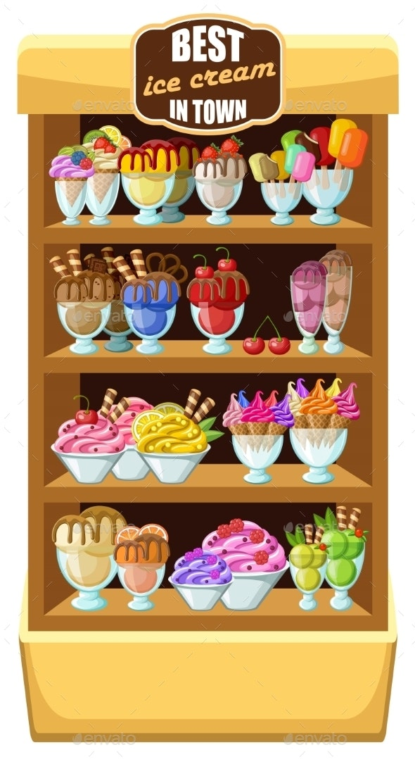 Ice Cream Shop - Retail Commercial / Shopping
