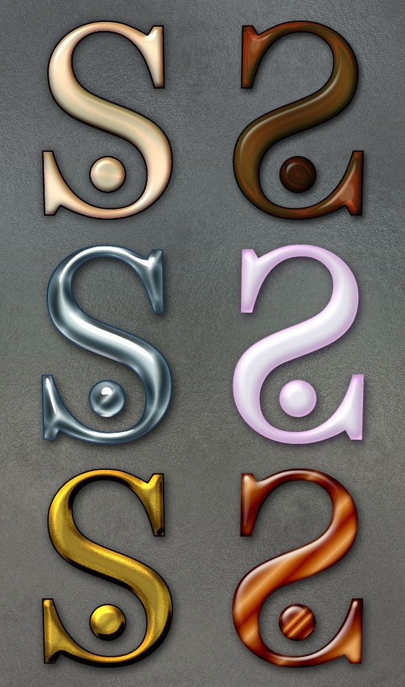 Jewel Styles 1 - Text Effects Styles
