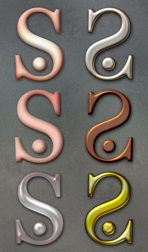 Jewel Styles 2 - Text Effects Styles