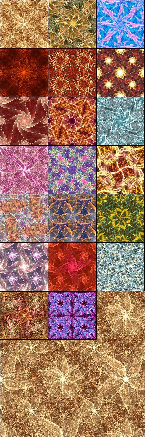 Flame Fabrics - Abstract Textures / Fills / Patterns