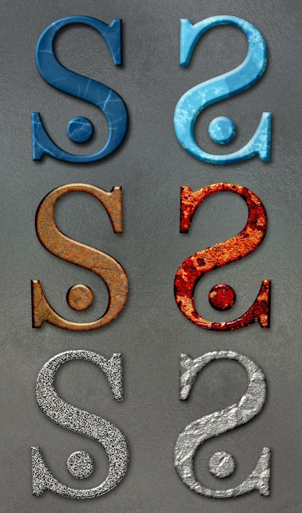 Stone Styles 2 - Text Effects Styles