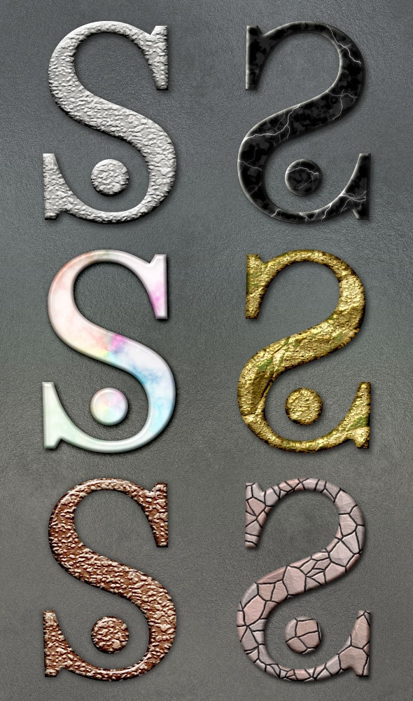 Stone Styles 3 - Text Effects Styles