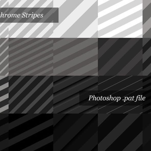Monochrome Striped Backgrounds (20 Patterns)