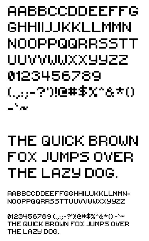 iPix - Decorative Fonts