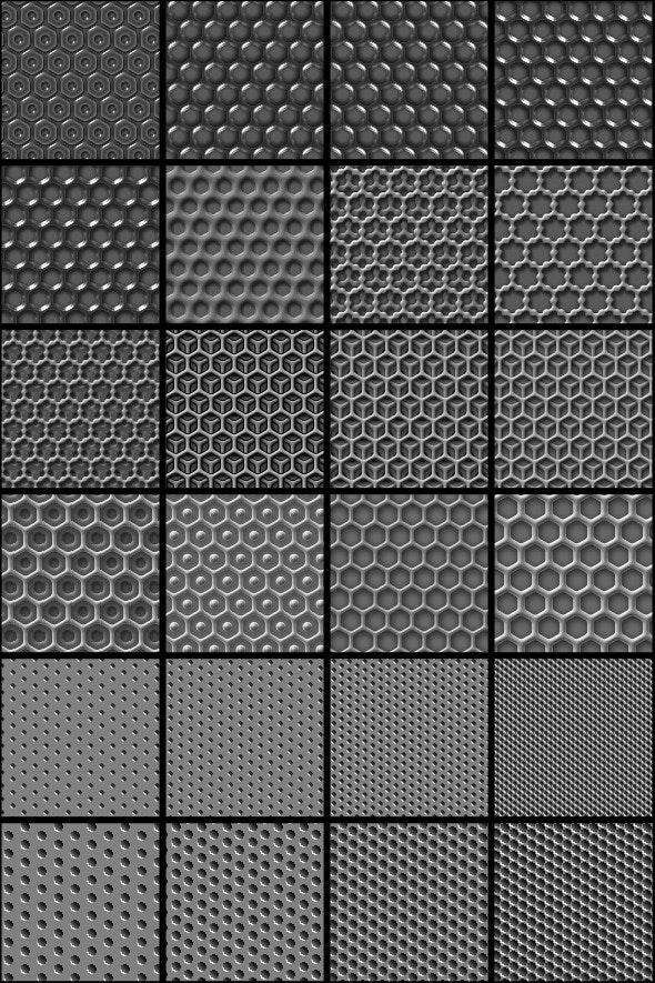 patterns : dots n grids - Techno / Futuristic Textures / Fills / Patterns