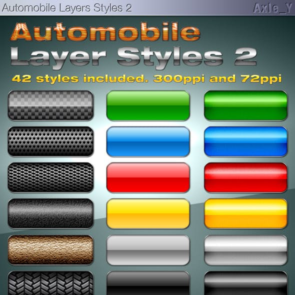 Automobile Layer Styles 2