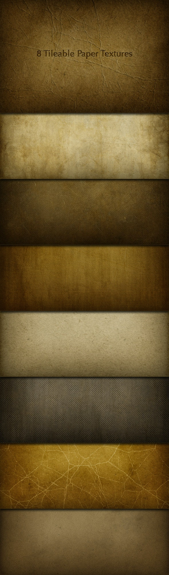8 Tileable Paper Texture Photoshop Patterns - Miscellaneous Textures / Fills / Patterns