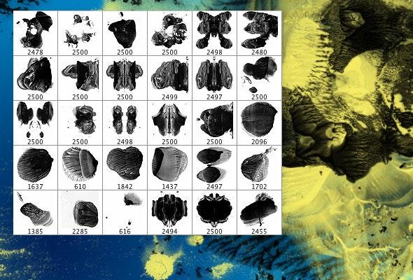 Ink Blots - Brushes Photoshop