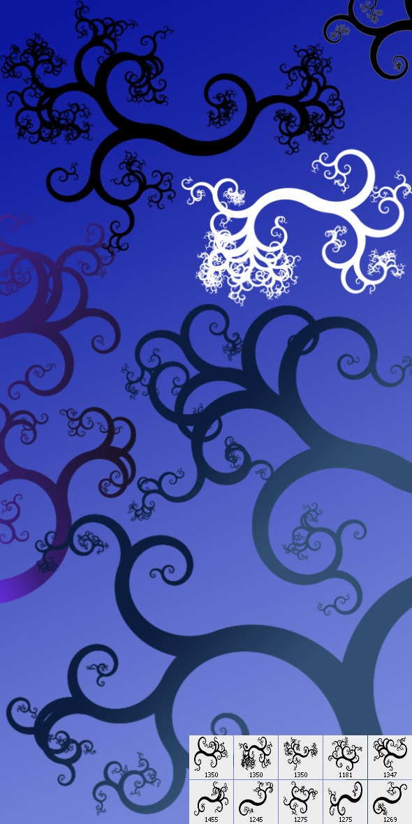 Swirls-03 - Flourishes Brushes