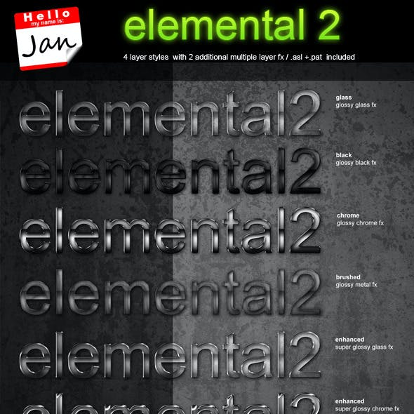 elemental 2 - professional styling package