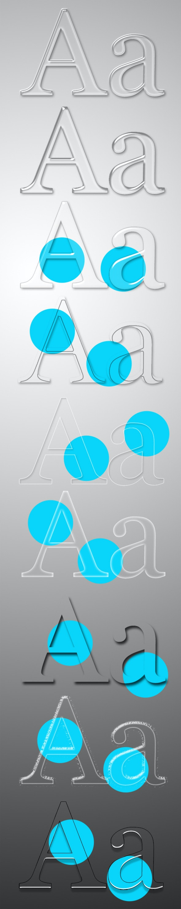 Glass Style - Photoshop Add-ons