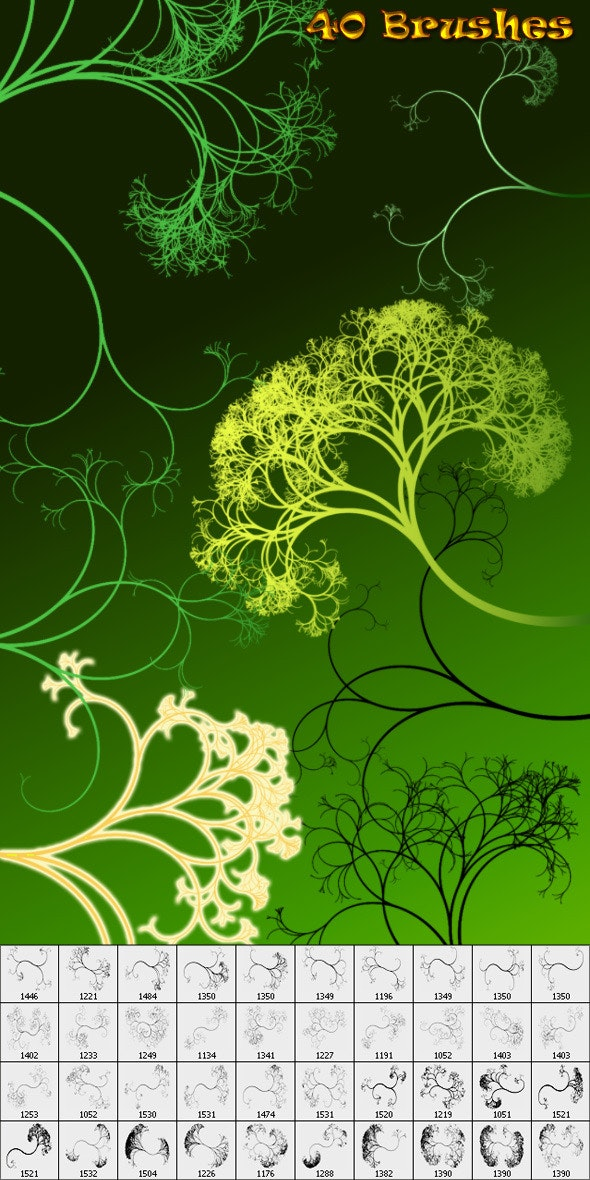 Swirls-04 - Flourishes Brushes