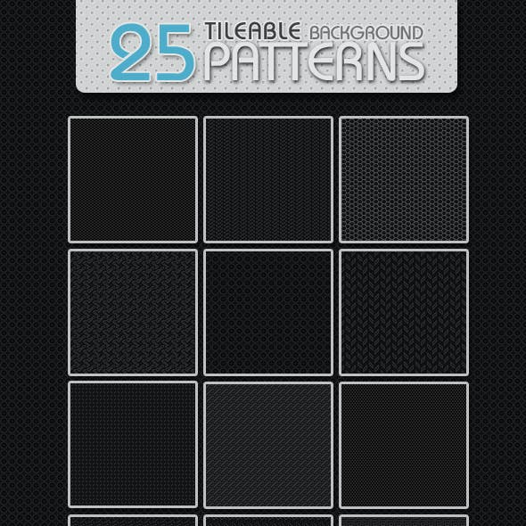 25 Tileable Background Patterns