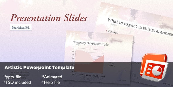 Artistic Powerpoint Template - Abstract PowerPoint Templates