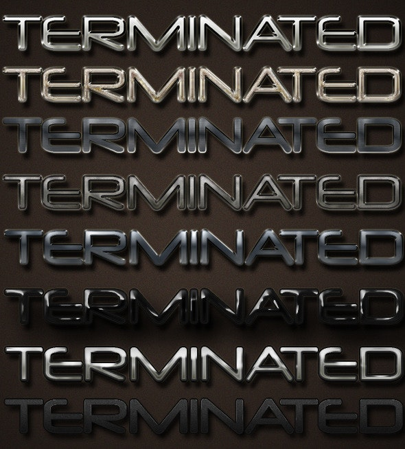 Heavy Metal Text Effects & Styles - Text Effects Styles