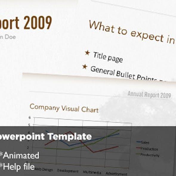 Bonsai Powerpoint Template