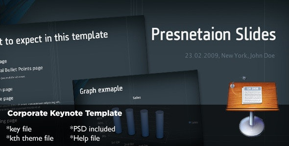 Corporate Keynote Template - Business Keynote Templates