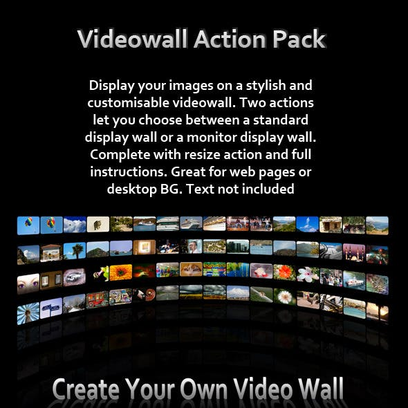 Video Wall Action Pack