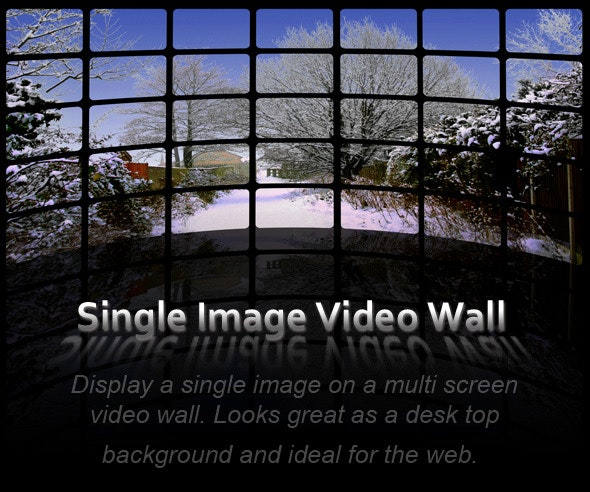Single Image Video Wall Action Pack - Utilities Actions