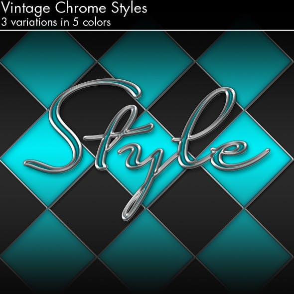 Vintage Chrome Styles