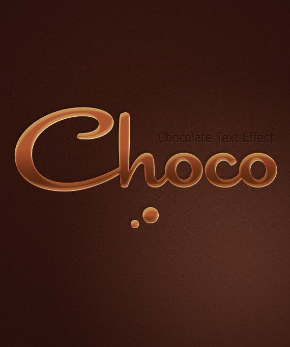 Chocolate Text Effect - Text Effects Styles