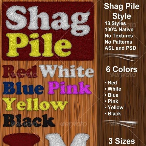 Shag Pile Style