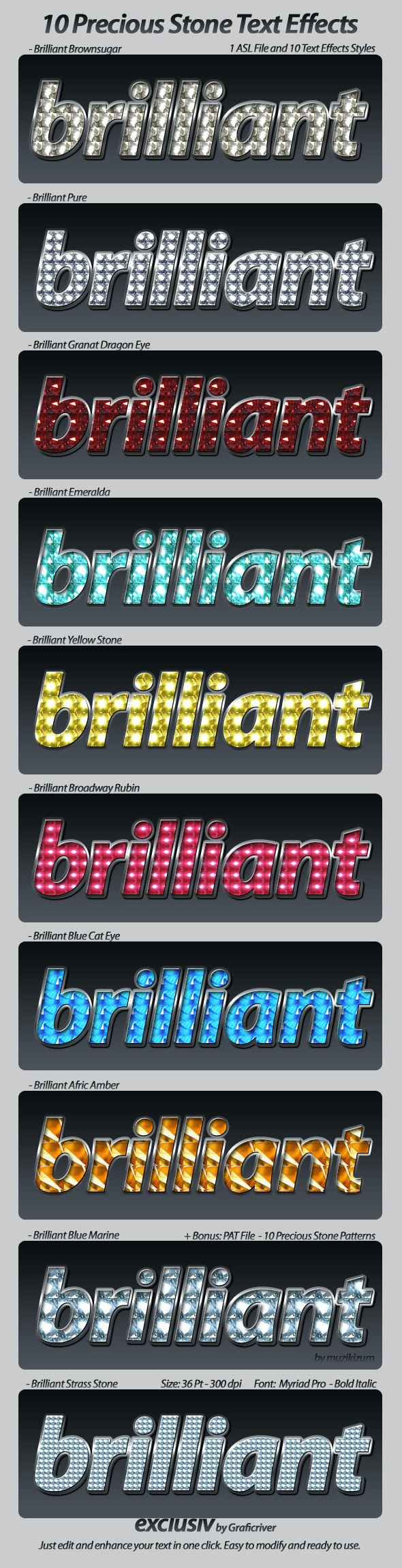 Stone Text Effects Styles - Text Effects Styles