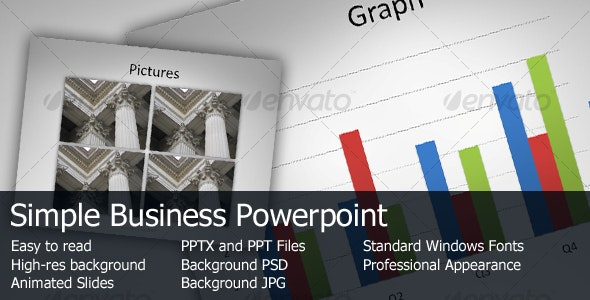 Simple Business Powerpoint - Business PowerPoint Templates
