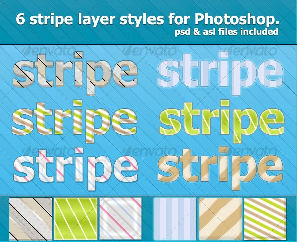 6 Nice Stripe Text Effects & Styles - Text Effects Styles