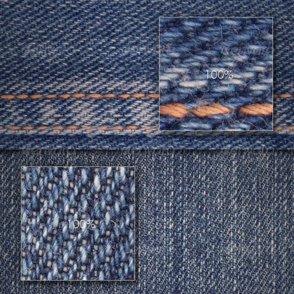 Seamless jeans textures