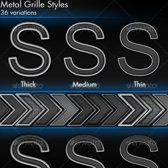 Metal Grille Styles