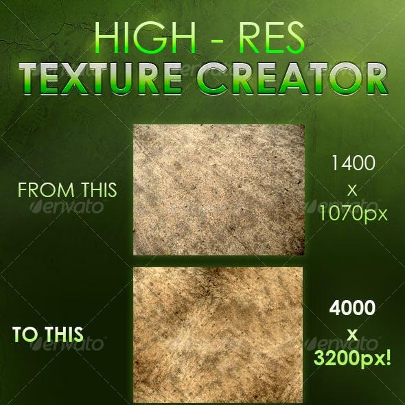 Instant Hi-Res Texture Creator