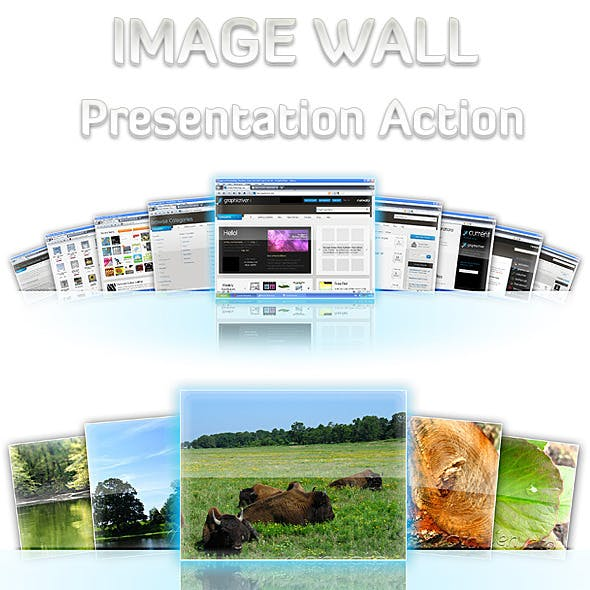 Image Wall Presentation Action