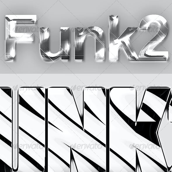Funk Text Style Actions Pack 2