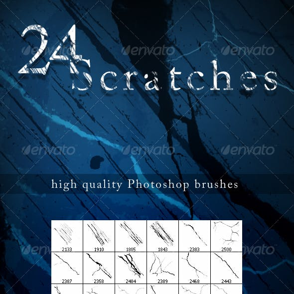 24 Scratch Brushes