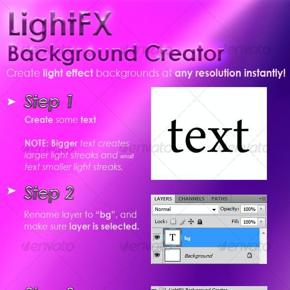 LightFX Background Creator
