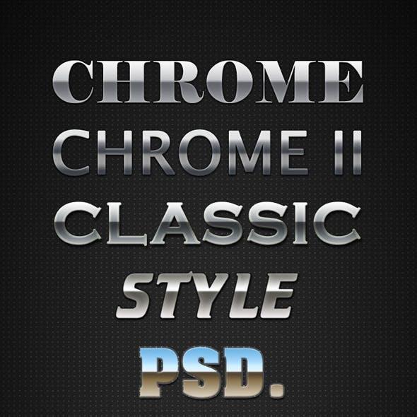 Chrome Layer Styles