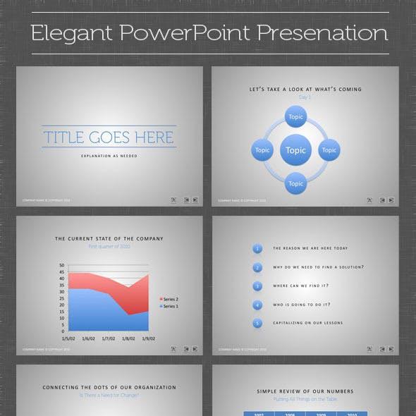 Elegant PowerPoint Presentation