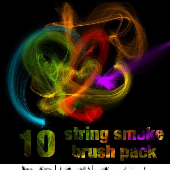 String Smoke Brush Pack