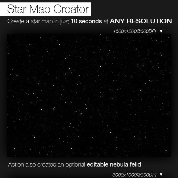 Star Map Creator