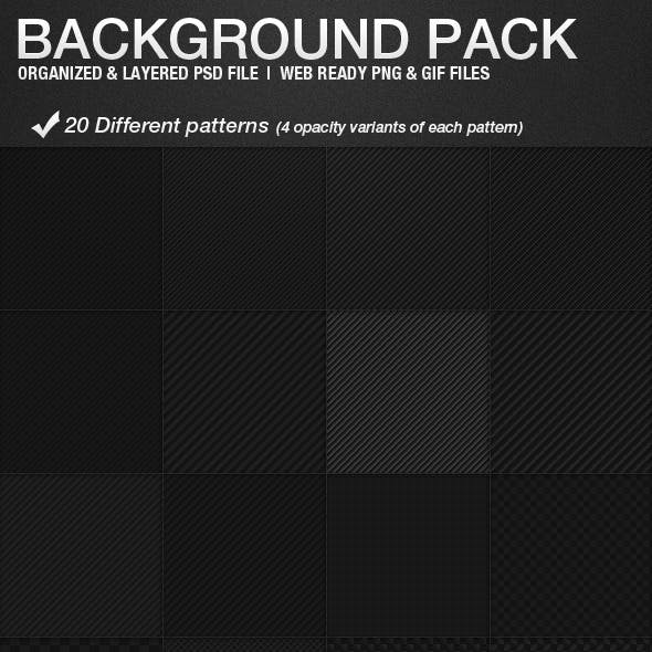 20 background pack, web patterns