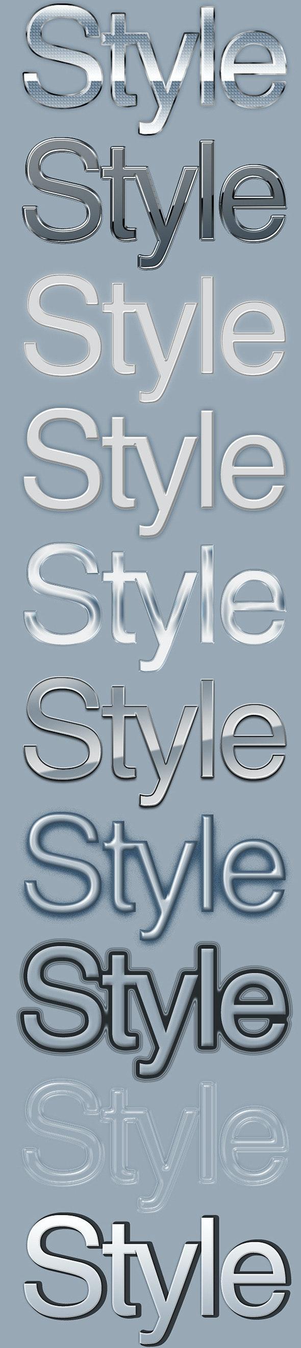 10 Elegant Text Styles 2 - Text Effects Styles