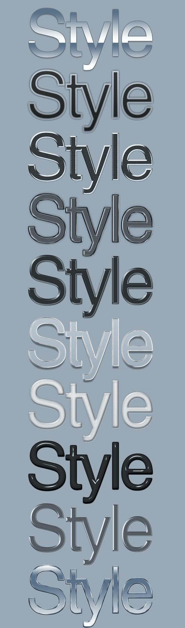 10 Elegant Text Styles - Text Effects Styles