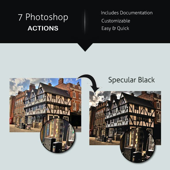 7 Photoshop Actions