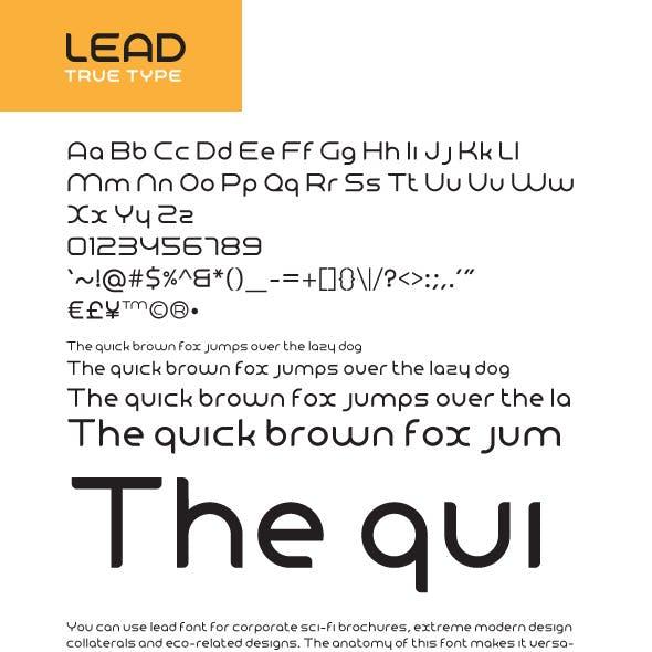 Lead True Type v1.0
